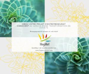 En 2021 osez porter le changement ! Le programme «Concevoir son projet d'entrepreneuriat conscient» est enfin accessible à distance !